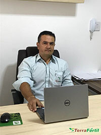 Engenheiro Cleidisson Oliveira CEO Terra Fértil Agrícola Ltda Machado MG